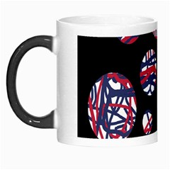 Colorful Decorative Pattern Morph Mugs by Valentinaart