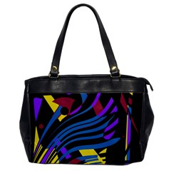 Decorative Abstract Design Office Handbags by Valentinaart