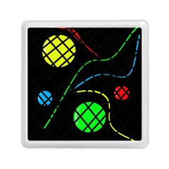 Colorful Design Memory Card Reader (square)  by Valentinaart