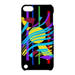Colorful Abstract Art Apple Ipod Touch 5 Hardshell Case With Stand by Valentinaart