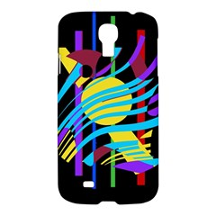 Colorful abstract art Samsung Galaxy S4 I9500/I9505 Hardshell Case