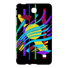 Colorful Abstract Art Samsung Galaxy Tab 4 (8 ) Hardshell Case