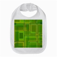 Green pattern Bib