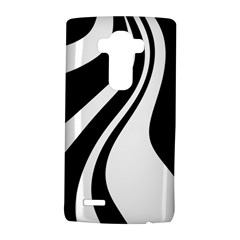 Black and white pattern LG G4 Hardshell Case by Valentinaart