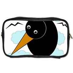 Black raven Toiletries Bags 2-Side