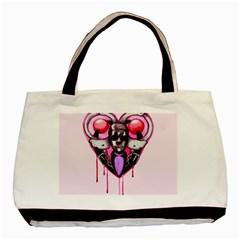 Bdsm Love Basic Tote Bag by lvbart
