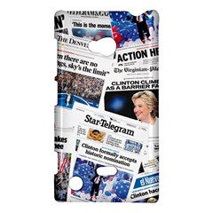 Hillary 2016 Historic Newspaper Collage Nokia Lumia 720 by blueamerica