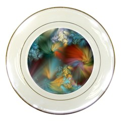 More Evidence Of Angels Porcelain Plates by WolfepawFractals