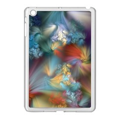 More Evidence Of Angels Apple Ipad Mini Case (white) by WolfepawFractals