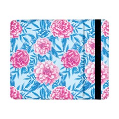 Blue & Pink Floral Samsung Galaxy Tab Pro 8 4  Flip Case by TanyaDraws