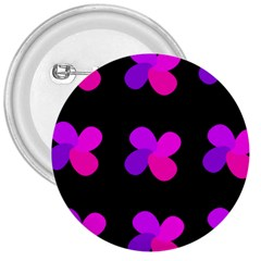 Purple flowers 3  Buttons by Valentinaart