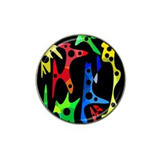 Colorful Abstract Pattern Hat Clip Ball Marker (10 Pack) by Valentinaart