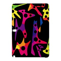 Colorful Pattern Samsung Galaxy Tab Pro 12 2 Hardshell Case by Valentinaart