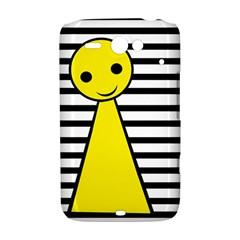 Yellow pawn HTC ChaCha / HTC Status Hardshell Case  by Valentinaart