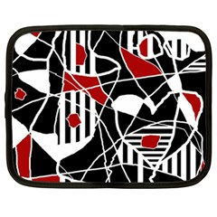 Artistic abstraction Netbook Case (XXL)  by Valentinaart