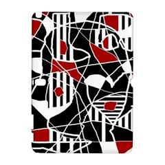 Artistic abstraction Samsung Galaxy Note 10.1 (P600) Hardshell Case by Valentinaart