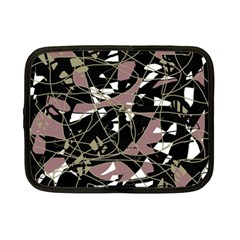 Artistic Abstract Pattern Netbook Case (small)  by Valentinaart
