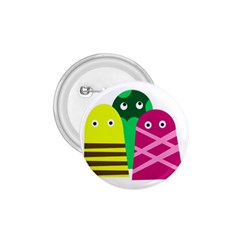 Three mosters 1.75  Buttons by Valentinaart