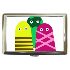 Three Mosters Cigarette Money Cases by Valentinaart