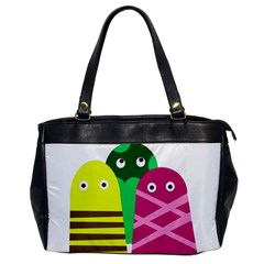 Three Mosters Office Handbags by Valentinaart