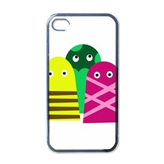 Three Mosters Apple Iphone 4 Case (black) by Valentinaart