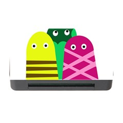 Three Mosters Memory Card Reader With Cf by Valentinaart