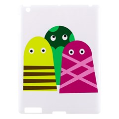 Three Mosters Apple Ipad 3/4 Hardshell Case by Valentinaart