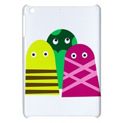 Three Mosters Apple Ipad Mini Hardshell Case by Valentinaart