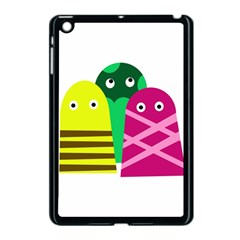 Three Mosters Apple Ipad Mini Case (black) by Valentinaart