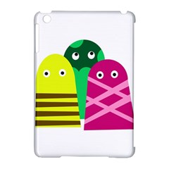 Three Mosters Apple Ipad Mini Hardshell Case (compatible With Smart Cover) by Valentinaart
