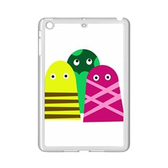 Three Mosters Ipad Mini 2 Enamel Coated Cases by Valentinaart