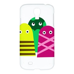Three Mosters Samsung Galaxy S4 I9500/i9505 Hardshell Case by Valentinaart