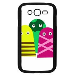 Three Mosters Samsung Galaxy Grand Duos I9082 Case (black) by Valentinaart