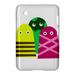 Three Mosters Samsung Galaxy Tab 2 (7 ) P3100 Hardshell Case  by Valentinaart