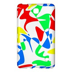 Colorful abstraction Samsung Galaxy Tab 4 (7 ) Hardshell Case  by Valentinaart