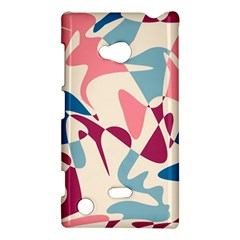 Blue, Pink And Purple Pattern Nokia Lumia 720 by Valentinaart