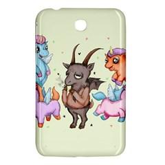 Evil Is Magic Samsung Galaxy Tab 3 (7 ) P3200 Hardshell Case  by lvbart