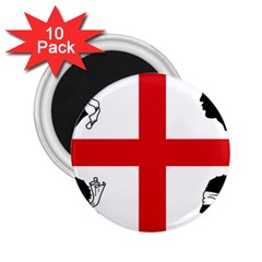 Traditional Flag Of Sardinia  2.25  Magnets (10 pack)  by abbeyz71