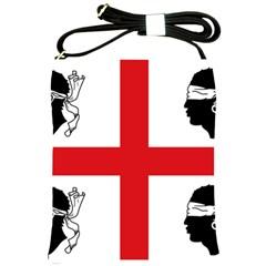 Traditional Flag Of Sardinia  Shoulder Sling Bags