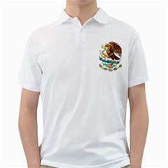 Coat Of Arms Of Mexico  Golf Shirts by abbeyz71