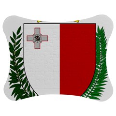 Coat Of Arms Of Malta  Jigsaw Puzzle Photo Stand (Bow)