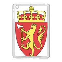 Coat Of Arms Of Norway  Apple iPad Mini Case (White) by abbeyz71