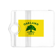 Flag Of Oakland, California Kindle Fire HDX 8.9  Flip 360 Case by abbeyz71