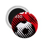 Crest Of The Albanian National Football Team 2.25  Magnets