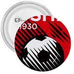 Crest Of The Albanian National Football Team 3  Buttons