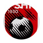 Crest Of The Albanian National Football Team Ornament (Round)