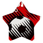 Crest Of The Albanian National Football Team Ornament (Star)