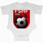 Crest Of The Albanian National Football Team Infant Creepers