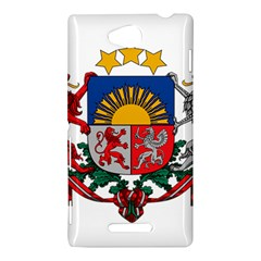 Coat Of Arms Of Latvia Sony Xperia C (S39H) by abbeyz71