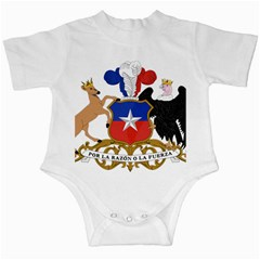 Coat Of Arms Of Chile  Infant Creepers by abbeyz71